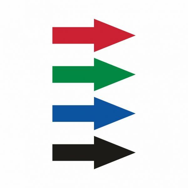 Označenie potrubí - šipky na označenie smeru prúdenia