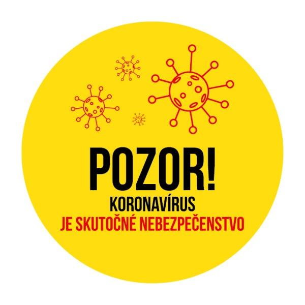 Koronavírus je skutočné nebezpečenstvo