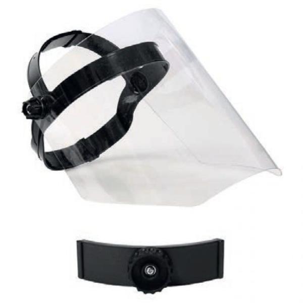 Ochranný tvárový polykarbonátový štít