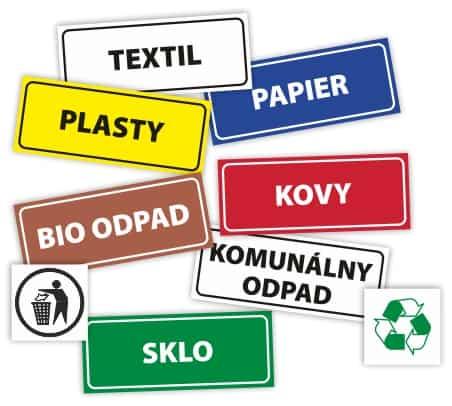 Označenie odpadov
