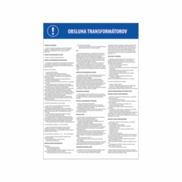 Pravidlá obsluhy transformátorov