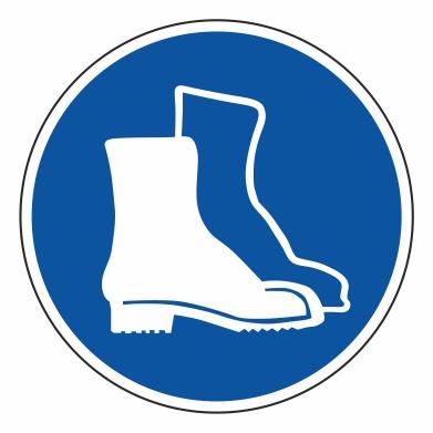 Použitie ochrannej obuvi