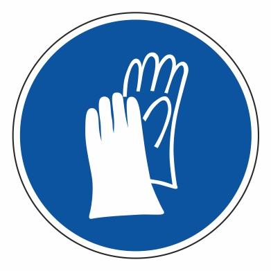 Použitie ochranných rukavíc