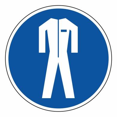 Použitie ochranného odevu