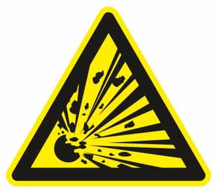 Nebezpečenstvo výbuchu