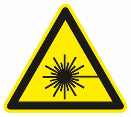 Nebezpečenstvo laseru
