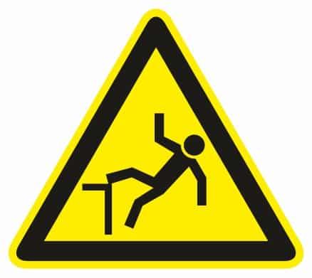 Nebezpečenstvo pádu