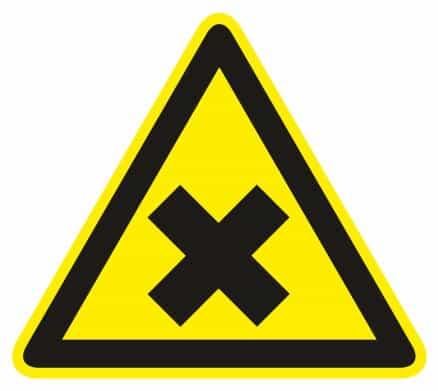 Nebezpečenstvo škodlivých látok