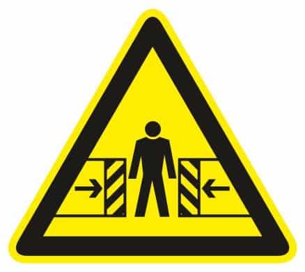 Nebezpečenstvo pomliaždenia