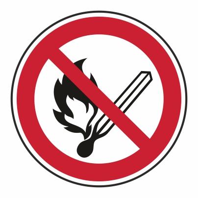 Zákaz používať otvorený oheň