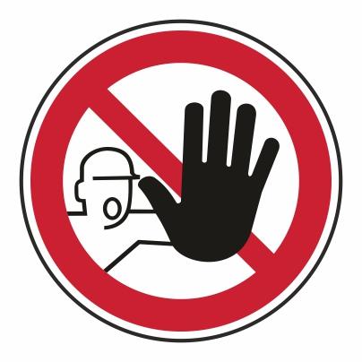 Zákaz vstupu nepovolaným