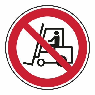 Zákaz vjazdu vozíkom