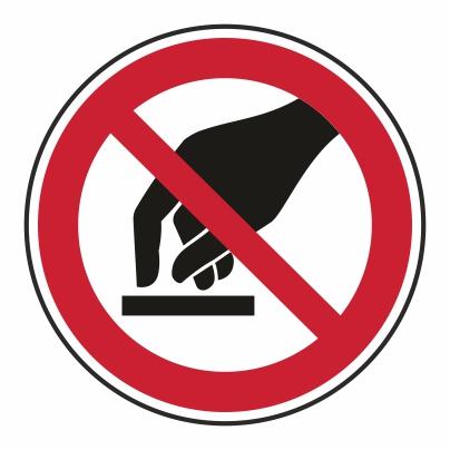 Zákaz dotyku