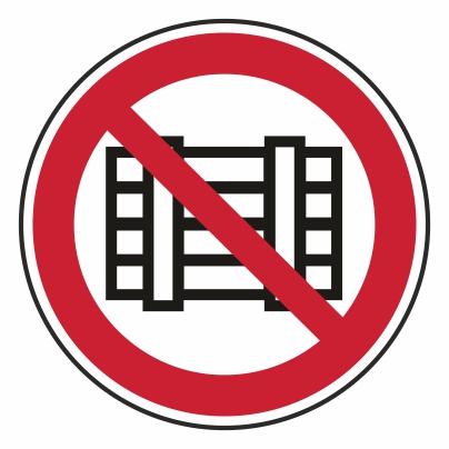 Zákaz skladovania