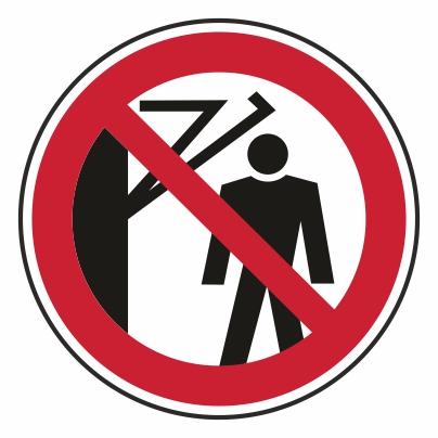 Zákaz vstupu za rameno