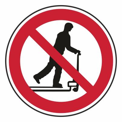 Zákaz jazdy na vozíkoch