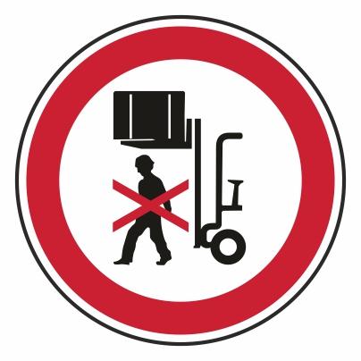 Zákaz vstupu pod bremeno