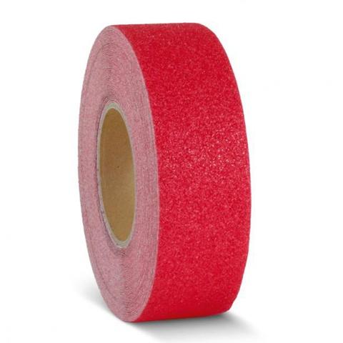 Protišmyková páska červená