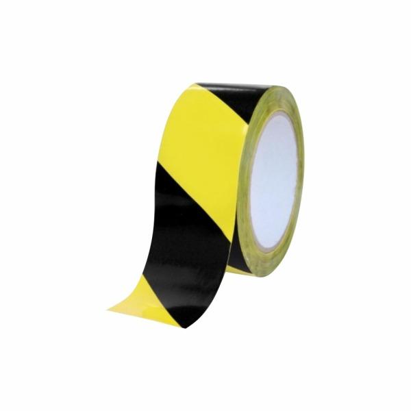 Výstražná páska žlto-čierna ľavá