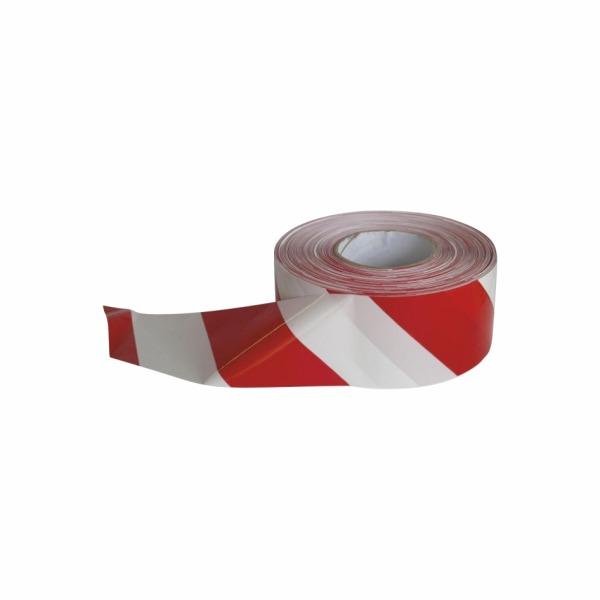 Vytyčovacia páska červeno biela