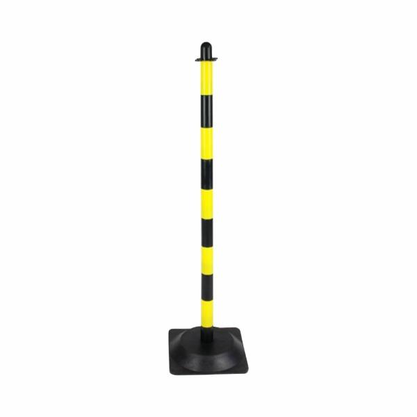500 - Plastový stĺpik žlto-čierny