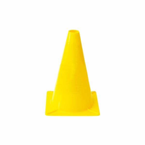 505 - Ľahký plastový kužeľ - žltý