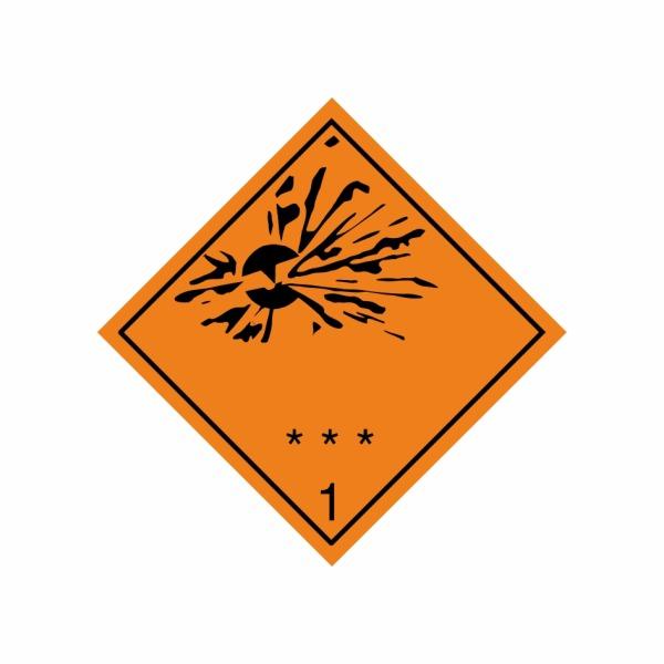 ADR č. 1 - Náchylné k výbuchu
