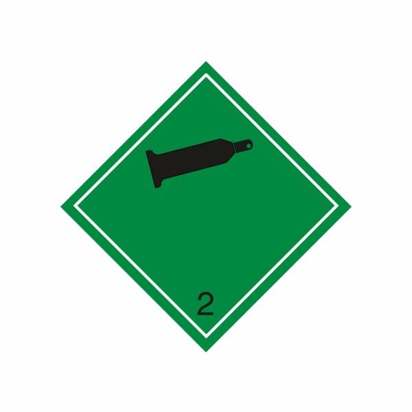 ADR č. 2.2 – Horľavý nejedovatý plyn – čierna fľaša