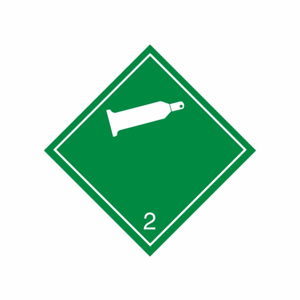 ADR č. 2.2 – Horľavý nejedovatý plyn – biela fľaša