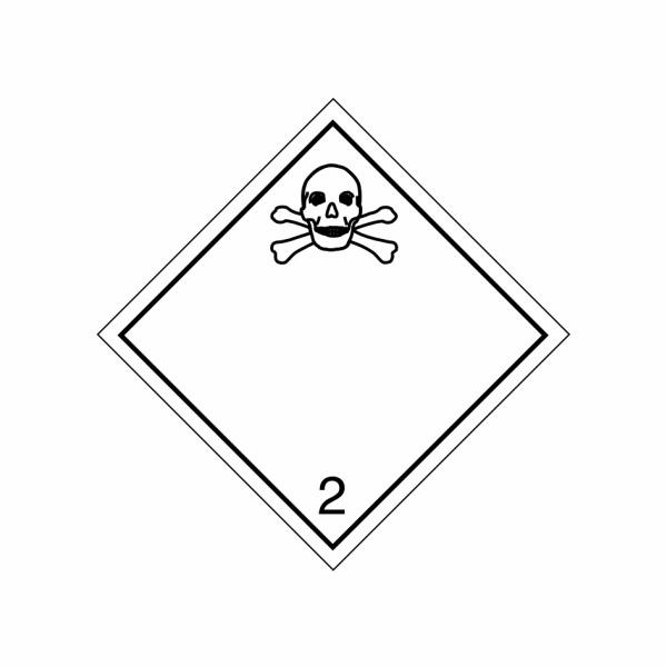 ADR č. 2.3 – Jedovatá látka