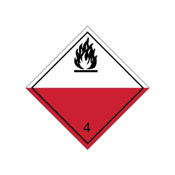 ADR č. 4.2 – Samozápalné látky