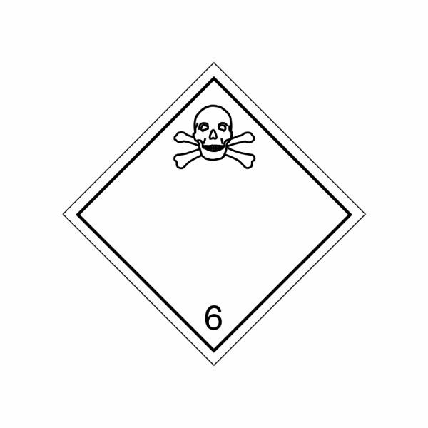 ADR č. 6.1 – Jedovatá látka