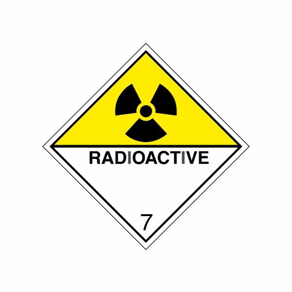 ADR č. 7D – Rádioaktívna látka predstavujúca nebezpečenstvo