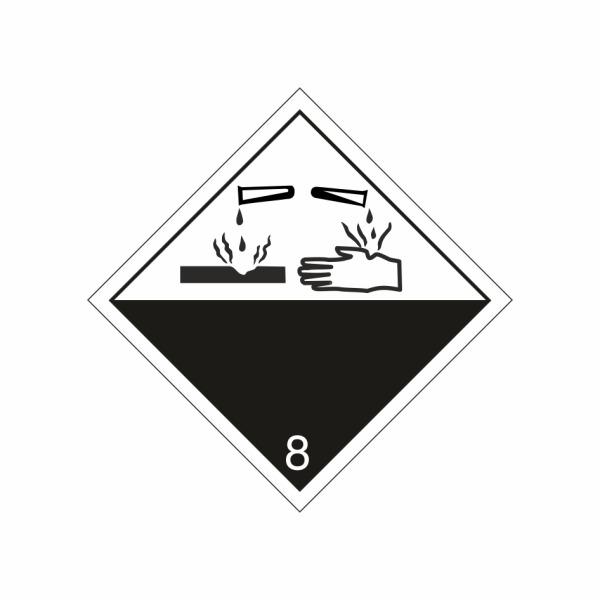 ADR č. 8 – Žieravá látka