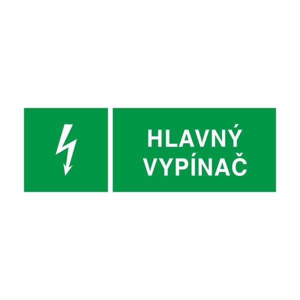 04 - Hlavný vypínač - elektrotechnická značka