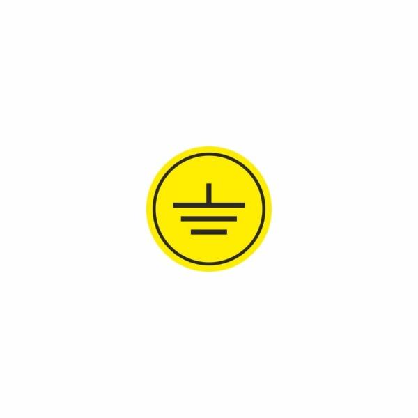 07 - uzemnenie - označovacia elektrotechnická značka
