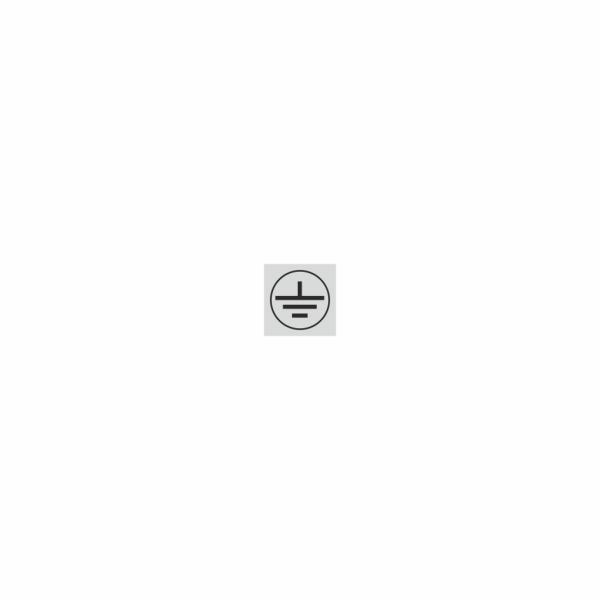 09 - uzemnenie strieborné - označovacia elektrotechnická značka