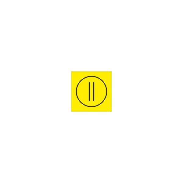 14-2 Poloha II - označovacia elektrotechnická značka