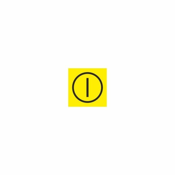 14 Poloha I - označovacia elektrotechnická značka