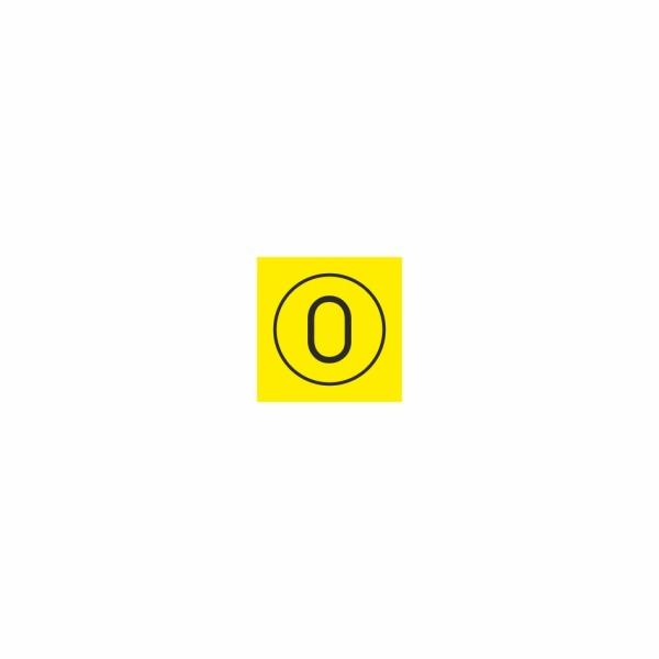 15 Poloha 0 - označovacia elektrotechnická značka