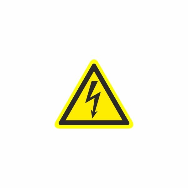 18 Blesk - označovacia elektrotechnická značka