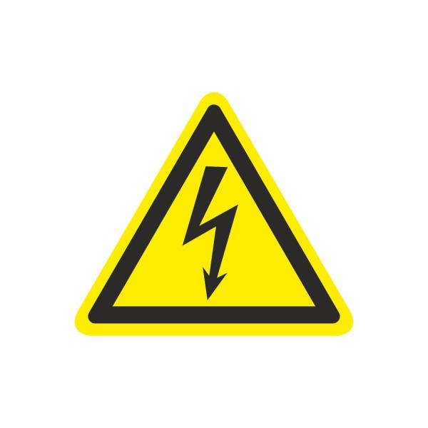 19 Blesk - označovacia elektrotechnická značka