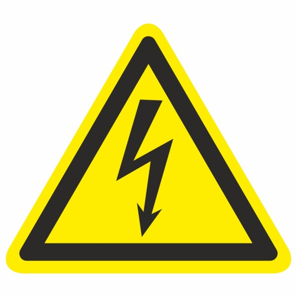 20 Blesk - označovacia elektrotechnická značka