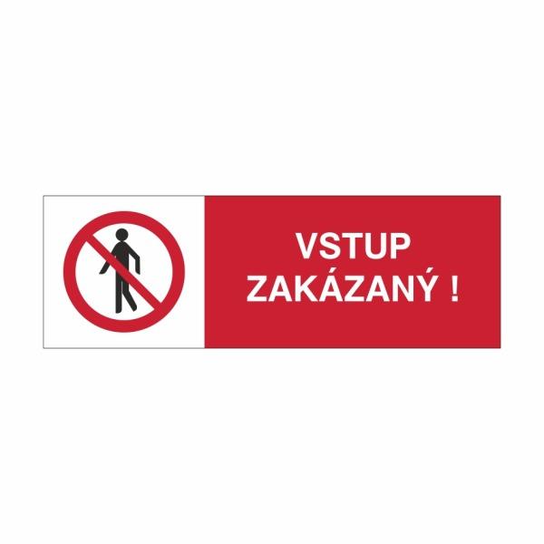 27 Vstup zakázaný - označovacia elektrotechnická značka
