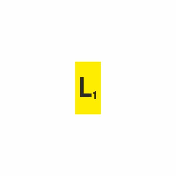 30 L1 - označovacia elektrotechnická značka
