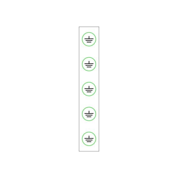 943 Pásik s uzemneniami - označovacia elektrotechnická značka
