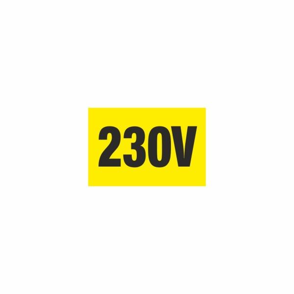 E008SE 230V - elektrotechnická značka