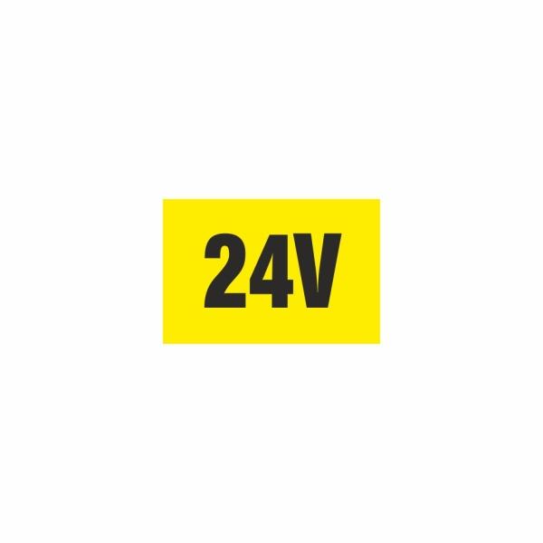 E009SE 24V - elektrotechnická značka