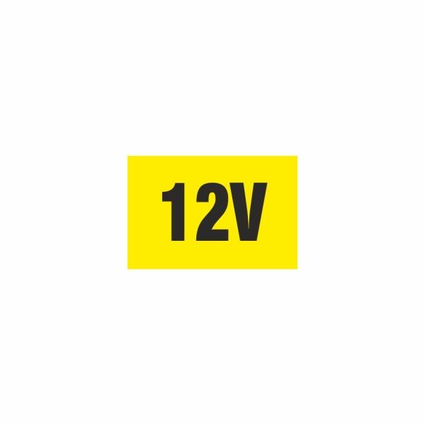 E010SE 12V - elektrotechnická značka