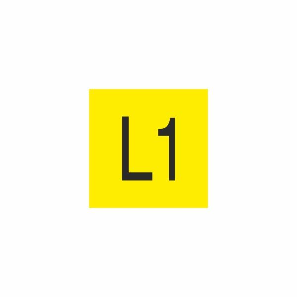 E015SE L1 - označovacia elektrotechnická značka